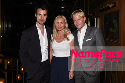 MarVista Entertainment & Parkside Pictures With The Cinema Society Host A Screening Of The Year Of Spectacular Men - After Party Kane Manera, Valesca Guerrand-Hermes and Daniel Benedict - NameFace Photo Agency New York City - hello@nameface.com - nameface.com - Photo by Daniela Kirsch