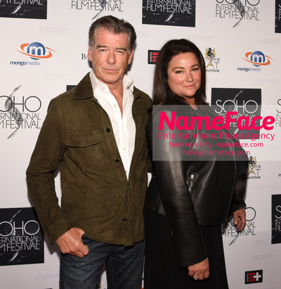 The Screening Of POISONING PARADISE At The SOHO International Film Festival Pierce Brosnan and Keely Shaye Smith - NameFace Photo Agency New York City - hello@nameface.com - nameface.com - Photo by Daniela Kirsch