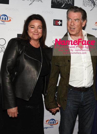 The Screening Of POISONING PARADISE At The SOHO International Film Festival Keely Shaye Smith and Pierce Brosnan - NameFace Photo Agency New York City - hello@nameface.com - nameface.com - Photo by Daniela Kirsch
