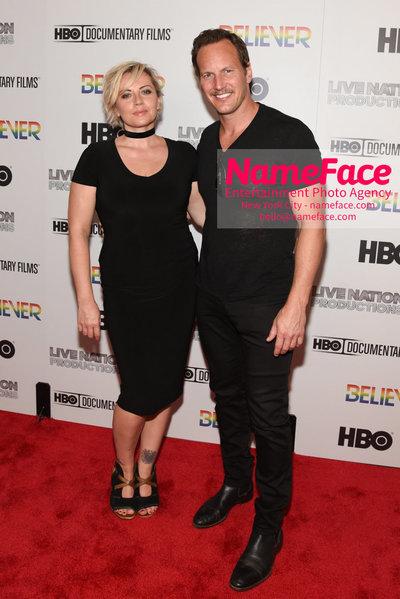 HBO Believer Documentary New York Premiere Dagmara Dominczyk and Patrick Wilson - NameFace Photo Agency New York City - hello@nameface.com - nameface.com - Photo by Daniela Kirsch