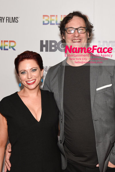 HBO Believer Documentary New York Premiere Sheena M. Joyce and Don Argott - NameFace Photo Agency New York City - hello@nameface.com - nameface.com - Photo by Daniela Kirsch