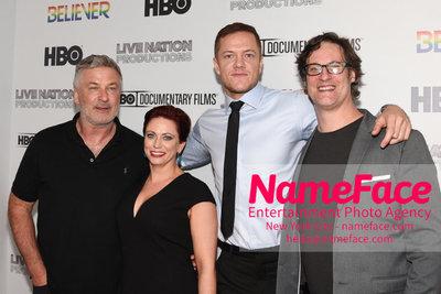 HBO Believer Documentary New York Premiere Alec Baldwin, Sheena M. Joyce, Dan Reynolds and Don Argott - NameFace Photo Agency New York City - hello@nameface.com - nameface.com - Photo by Daniela Kirsch