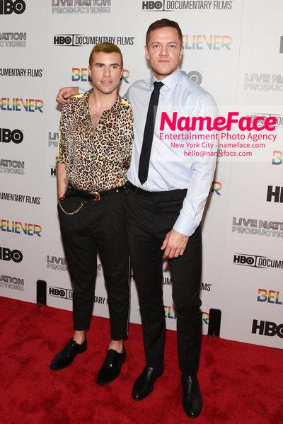 HBO Believer Documentary New York Premiere Tyler Glenn and Dan Reynolds - NameFace Photo Agency New York City - hello@nameface.com - nameface.com - Photo by Daniela Kirsch