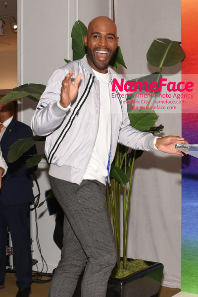 Celebrate Pride Month with MACY'S HERALD SQUARE at a LGBTQ Changemakers event in support of the work and mission of the Gay Mens Health Crisis Karamo Brown - NameFace Photo Agency New York City - hello@nameface.com - nameface.com - Photo by Daniela Kirsch
