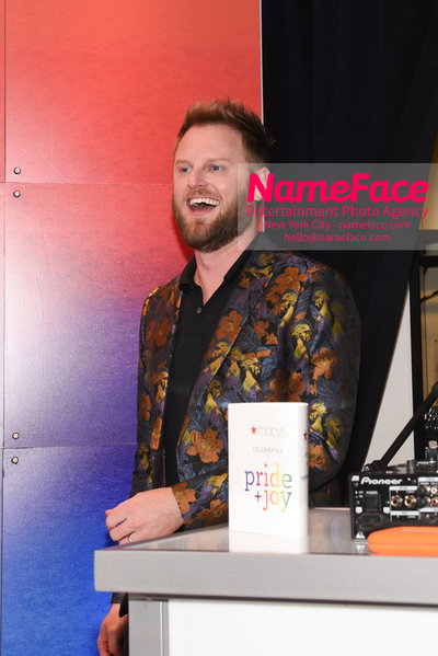 Celebrate Pride Month with MACY'S HERALD SQUARE at a LGBTQ Changemakers event in support of the work and mission of the Gay Mens Health Crisis Bobby Berk - NameFace Photo Agency New York City - hello@nameface.com - nameface.com - Photo by Daniela Kirsch