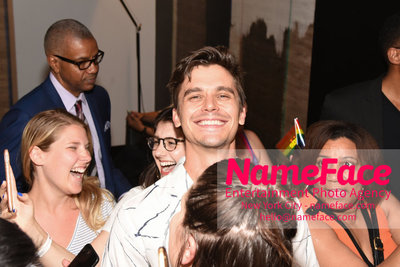 Celebrate Pride Month with MACY'S HERALD SQUARE at a LGBTQ Changemakers event in support of the work and mission of the Gay Mens Health Crisis Antoni Porowski - NameFace Photo Agency New York City - hello@nameface.com - nameface.com - Photo by Daniela Kirsch