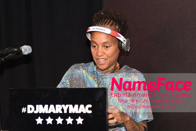 Celebrate Pride Month with MACY'S HERALD SQUARE at a LGBTQ Changemakers event in support of the work and mission of the Gay Mens Health Crisis DJ Mary Mac - NameFace Photo Agency New York City - hello@nameface.com - nameface.com - Photo by Daniela Kirsch