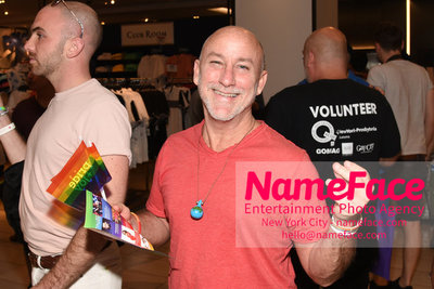 Celebrate Pride Month with MACY'S HERALD SQUARE at a LGBTQ Changemakers event in support of the work and mission of the Gay Mens Health Crisis Guest - NameFace Photo Agency New York City - hello@nameface.com - nameface.com - Photo by Daniela Kirsch