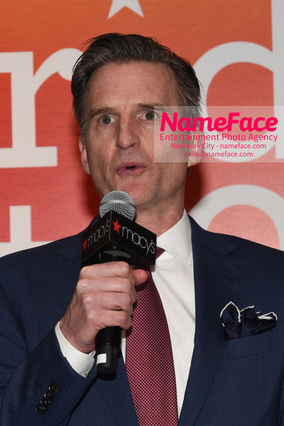 Celebrate Pride Month with MACY'S HERALD SQUARE at a LGBTQ Changemakers event in support of the work and mission of the Gay Mens Health Crisis Jeffrey Gennette - NameFace Photo Agency New York City - hello@nameface.com - nameface.com - Photo by Daniela Kirsch