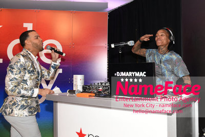 Celebrate Pride Month with MACY'S HERALD SQUARE at a LGBTQ Changemakers event in support of the work and mission of the Gay Mens Health Crisis Jonathan Fernandez and DJ Mary Mac - NameFace Photo Agency New York City - hello@nameface.com - nameface.com - Photo by Daniela Kirsch