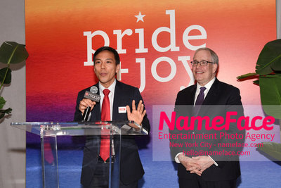 Celebrate Pride Month with MACY'S HERALD SQUARE at a LGBTQ Changemakers event in support of the work and mission of the Gay Mens Health Crisis Scott Stringer - NameFace Photo Agency New York City - hello@nameface.com - nameface.com - Photo by Daniela Kirsch