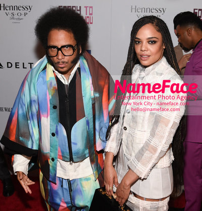 10th Annual BAMcinemaFest Opening Night Premiere Of Sorry To Bother You Boots Riley and Tessa Thompson - NameFace Photo Agency New York City - hello@nameface.com - nameface.com - Photo by Daniela Kirsch
