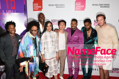 10th Annual BAMcinemaFest Opening Night Premiere Of Sorry To Bother You Jermaine Fowler, Boots Riley, Terry Crews, Tessa Thompson, Steven Yeun,Omari Hardwick, Lakeith Stanfield and Armie Hammer - NameFace Photo Agency New York City - hello@nameface.com - nameface.com - Photo by Daniela Kirsch