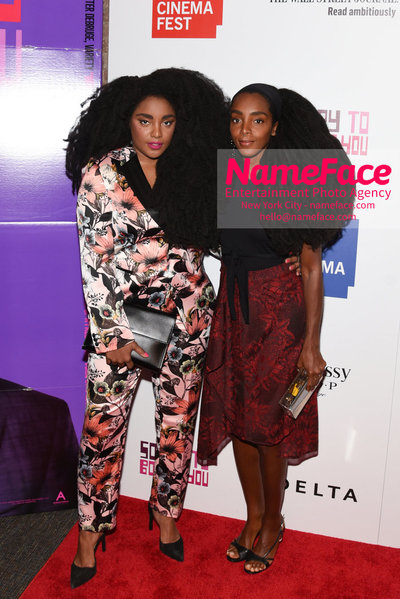 10th Annual BAMcinemaFest Opening Night Premiere Of Sorry To Bother You TK Quann and Cipriana Quann - NameFace Photo Agency New York City - hello@nameface.com - nameface.com - Photo by Daniela Kirsch