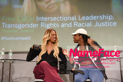 Screening of the documentary Free CeCe! - Transgender Rights and Racial Justice - LGBTQ Pride Month CeCe McDonald and Laverne Cox - NameFace Photo Agency New York City - hello@nameface.com - nameface.com - Photo by Daniela Kirsch