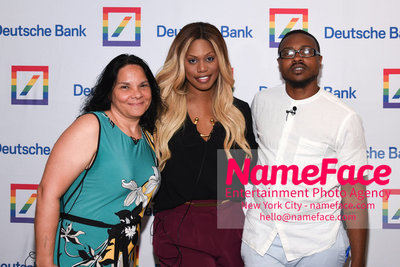 Screening of the documentary Free CeCe! - Transgender Rights and Racial Justice - LGBTQ Pride Month Jacqueline Gares, Laverne Cox, Tiq Milan and Jacqueline Gares - NameFace Photo Agency New York City - hello@nameface.com - nameface.com - Photo by Daniela Kirsch