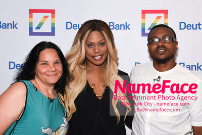 Screening of the documentary Free CeCe! - Transgender Rights and Racial Justice - LGBTQ Pride Month Jacqueline Gares, Laverne Cox and Tiq Milan - NameFace Photo Agency New York City - hello@nameface.com - nameface.com - Photo by Daniela Kirsch