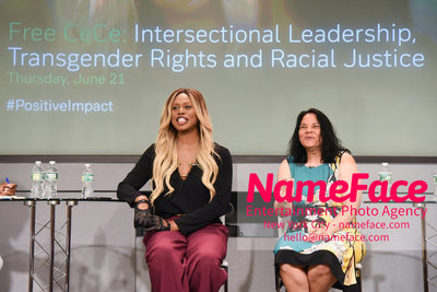 Screening of the documentary Free CeCe! - Transgender Rights and Racial Justice - LGBTQ Pride Month Jacqueline Gares and Laverne Cox - NameFace Photo Agency New York City - hello@nameface.com - nameface.com - Photo by Daniela Kirsch