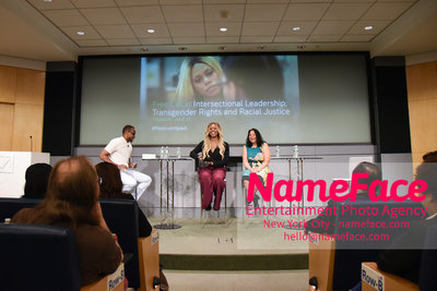 Screening of the documentary Free CeCe! - Transgender Rights and Racial Justice - LGBTQ Pride Month Tiq Milan, Jacqueline Gares and Laverne Cox - NameFace Photo Agency New York City - hello@nameface.com - nameface.com - Photo by Daniela Kirsch