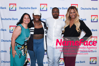 Screening of the documentary Free CeCe! - Transgender Rights and Racial Justice - LGBTQ Pride Month Jacqueline Gares, CeCe McDonald, Tiq Milan and Laverne Cox - NameFace Photo Agency New York City - hello@nameface.com - nameface.com - Photo by Daniela Kirsch