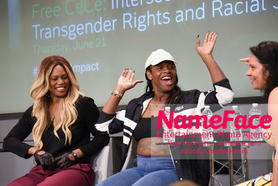 Screening of the documentary Free CeCe! - Transgender Rights and Racial Justice - LGBTQ Pride Month Laverne Cox and CeCe McDonald - NameFace Photo Agency New York City - hello@nameface.com - nameface.com - Photo by Daniela Kirsch
