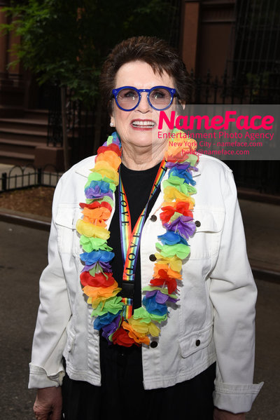 The 49th Annual NYC Pride March Billie Jean King - NameFace Photo Agency New York City - hello@nameface.com - nameface.com - Photo by Daniela Kirsch