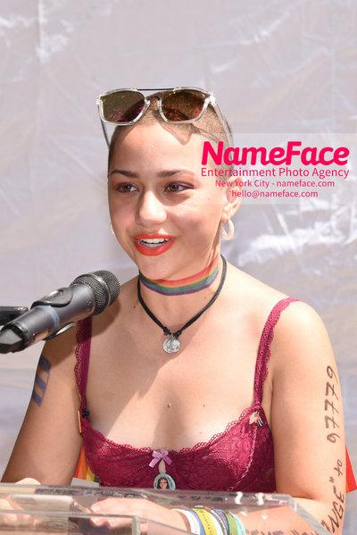 The 49th Annual NYC Pride March Emma Gonzalez - NameFace Photo Agency New York City - hello@nameface.com - nameface.com - Photo by Daniela Kirsch