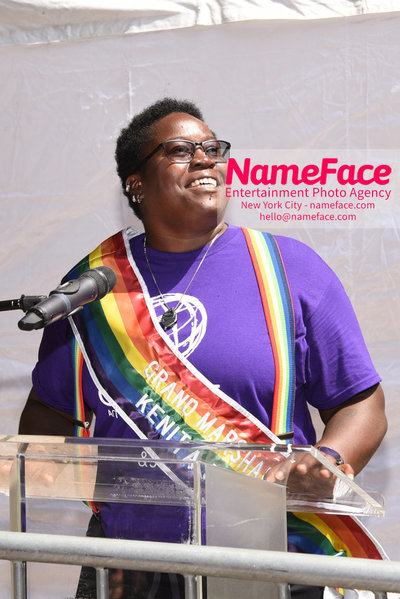 The 49th Annual NYC Pride March Kenita Placide - NameFace Photo Agency New York City - hello@nameface.com - nameface.com - Photo by Daniela Kirsch