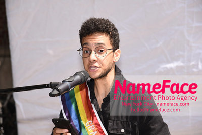 The 49th Annual NYC Pride March Tyler Ford - NameFace Photo Agency New York City - hello@nameface.com - nameface.com - Photo by Daniela Kirsch