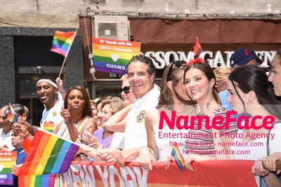 The 49th Annual NYC Pride March Andrew Cuomo - NameFace Photo Agency New York City - hello@nameface.com - nameface.com - Photo by Daniela Kirsch