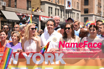 The 49th Annual NYC Pride March Sandra Lee and Andrew Cuomo - NameFace Photo Agency New York City - hello@nameface.com - nameface.com - Photo by Daniela Kirsch