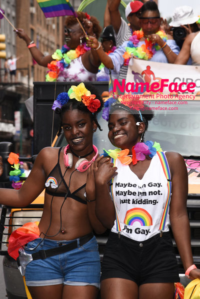 The 49th Annual NYC Pride March Atmosphere - NameFace Photo Agency New York City - hello@nameface.com - nameface.com - Photo by Daniela Kirsch