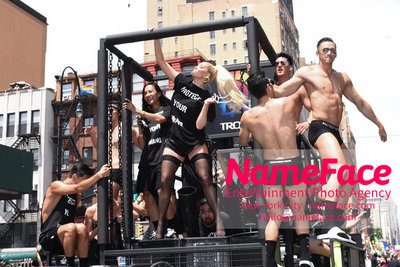 The 49th Annual NYC Pride March Alexander Wang and Erika Jayne - NameFace Photo Agency New York City - hello@nameface.com - nameface.com - Photo by Daniela Kirsch