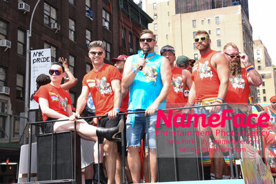 The 49th Annual NYC Pride March Eric Rutherford - NameFace Photo Agency New York City - hello@nameface.com - nameface.com - Photo by Daniela Kirsch