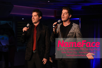 Fran Dreschers Cabaret Cruise Dinner Cancer Schmancer Anthony Nunziata	 and Will Nunziata - NameFace Photo Agency New York City - hello@nameface.com - nameface.com - Photo by Daniela Kirsch
