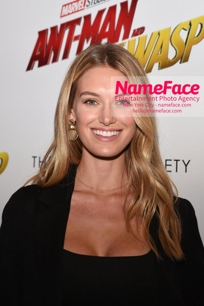 The Cinema Society with Synchrony and Avion host a screening of Marvel Studios Ant-Man and the Wasp Caroline Lowe - NameFace Photo Agency New York City - hello@nameface.com - nameface.com - Photo by Daniela Kirsch