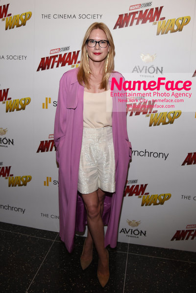 The Cinema Society with Synchrony and Avion host a screening of Marvel Studios Ant-Man and the Wasp Stephanie March - NameFace Photo Agency New York City - hello@nameface.com - nameface.com - Photo by Daniela Kirsch