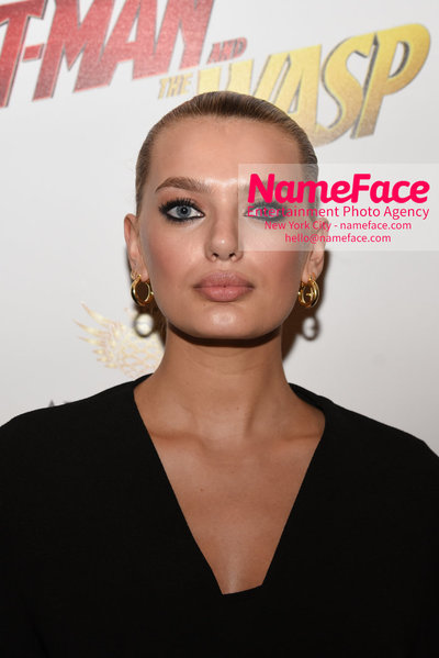 The Cinema Society with Synchrony and Avion host a screening of Marvel Studios Ant-Man and the Wasp Bregje Heinen - NameFace Photo Agency New York City - hello@nameface.com - nameface.com - Photo by Daniela Kirsch
