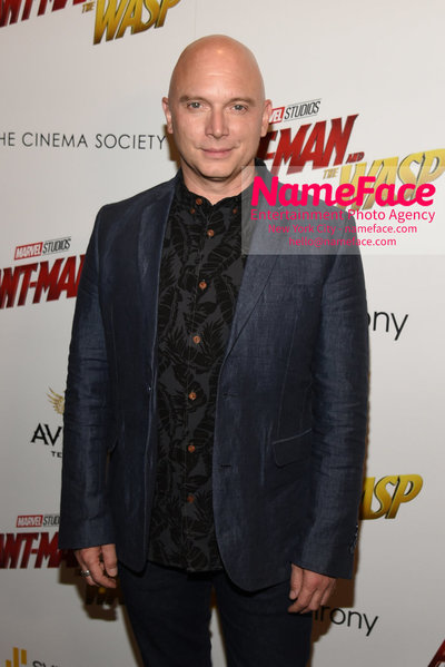 The Cinema Society with Synchrony and Avion host a screening of Marvel Studios Ant-Man and the Wasp Michael Cerveris - NameFace Photo Agency New York City - hello@nameface.com - nameface.com - Photo by Daniela Kirsch