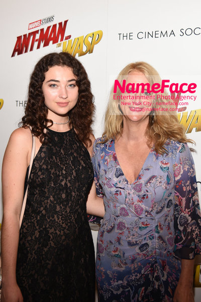 The Cinema Society with Synchrony and Avion host a screening of Marvel Studios Ant-Man and the Wasp Violet Savage and Nanette Lepore - NameFace Photo Agency New York City - hello@nameface.com - nameface.com - Photo by Daniela Kirsch