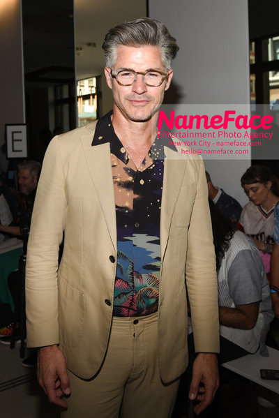 ALESSANDRO TRINCONE SS19 Runway Show - Mens NYFW - Front Row Eric Rutherford - NameFace Photo Agency New York City - hello@nameface.com - nameface.com - Photo by Daniela Kirsch