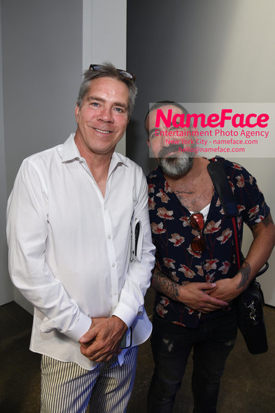 Carlos Campos Spring Summer 2019 Fashion Runway Show Mens NYFW - Front Row Andy Hilfiger - NameFace Photo Agency New York City - hello@nameface.com - nameface.com - Photo by Daniela Kirsch