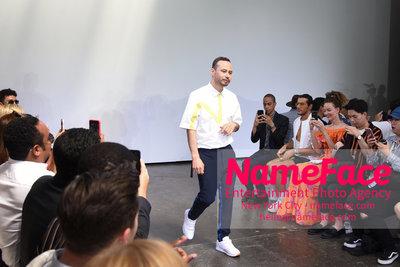 Carlos Campos Spring Summer 2019 Fashion Runway Show Mens NYFW - Front Row Carlos Campos - NameFace Photo Agency New York City - hello@nameface.com - nameface.com - Photo by Daniela Kirsch