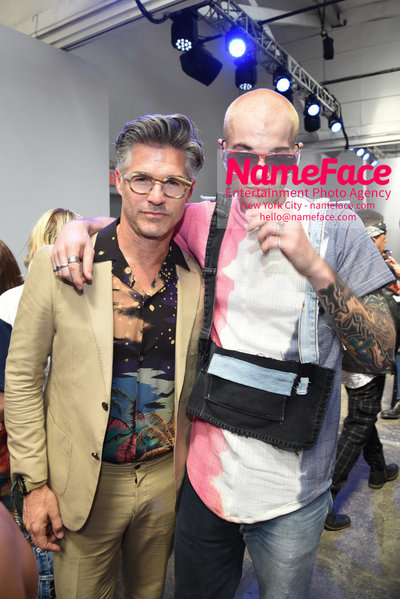Carlos Campos Spring Summer 2019 Fashion Runway Show Mens NYFW - Front Row Eric Rutherford - NameFace Photo Agency New York City - hello@nameface.com - nameface.com - Photo by Daniela Kirsch
