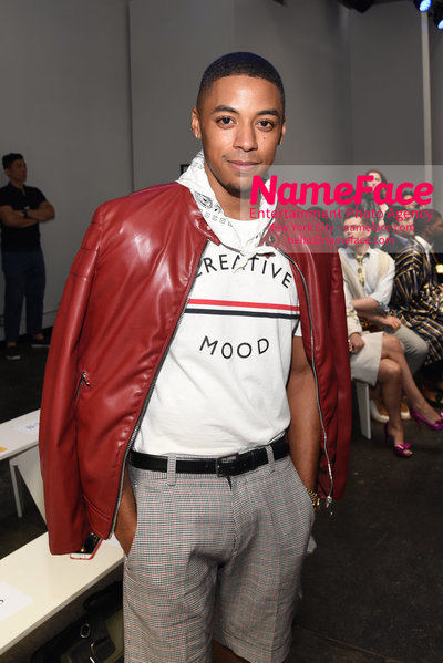 Carlos Campos Spring Summer 2019 Fashion Runway Show Mens NYFW - Front Row Kirk Knight - NameFace Photo Agency New York City - hello@nameface.com - nameface.com - Photo by Daniela Kirsch