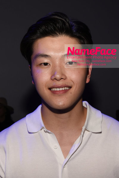 WILLY CHAVARRIA Runway Show - Mens NYFW - Front Row Alex Shibutani - NameFace Photo Agency New York City - hello@nameface.com - nameface.com - Photo by Daniela Kirsch