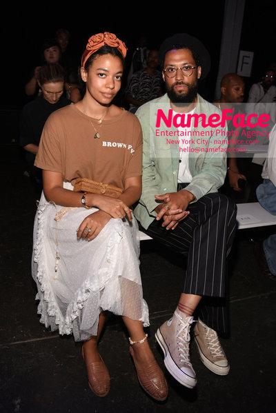 WILLY CHAVARRIA Runway Show - Mens NYFW - Front Row Aurora James and Browne Andrews - NameFace Photo Agency New York City - hello@nameface.com - nameface.com - Photo by Daniela Kirsch