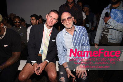 WILLY CHAVARRIA Runway Show - Mens NYFW - Front Row Douglas Hand and Gary Wassner - NameFace Photo Agency New York City - hello@nameface.com - nameface.com - Photo by Daniela Kirsch