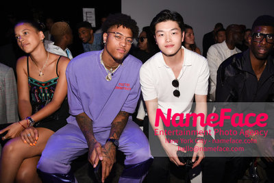 WILLY CHAVARRIA Runway Show - Mens NYFW - Front Row Kelly Oubre Jr. and Alex Shibutani - NameFace Photo Agency New York City - hello@nameface.com - nameface.com - Photo by Daniela Kirsch