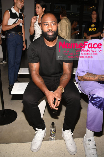 LANDLORD Spring/Summer 2019 RUNWAY SHOW - Mens NYFW - Front Row Darrelle Revis - NameFace Photo Agency New York City - hello@nameface.com - nameface.com - Photo by Daniela Kirsch